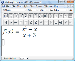 MoboMath expression in MathMagic